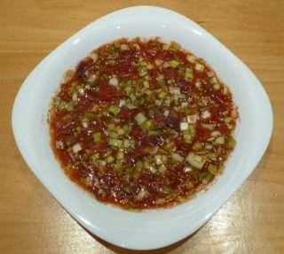 Праз лук с домати