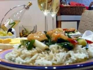 Рецепта за Скариди по тайландски стъпка 5