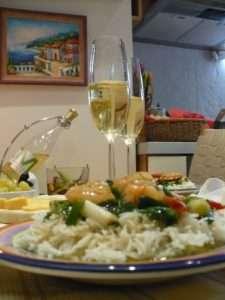 Рецепта за Скариди по тайландски стъпка 4