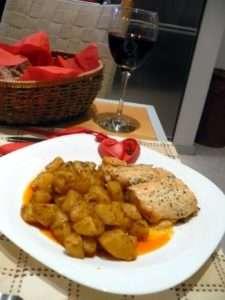 Рецепта за Сьомга с медена горчица стъпка 2