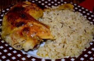 Рецепта за Пиле с ориз стъпка 4