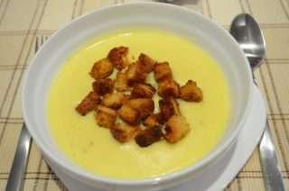 Рецепта за Картофена крем супа стъпка 6