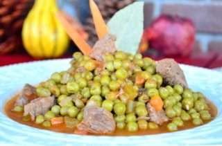 Рецепта за Грах с телешко месо стъпка 5