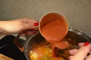 Рецепта за Пиле със зеленчуци стъпка 5