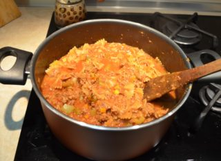Рецепта за Паста с телешко стъпка 5