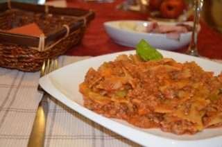 Рецепта за Паста с телешко стъпка 7