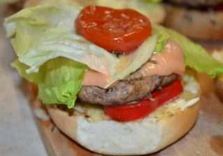 Рецепта за Хамбургер стъпка 5