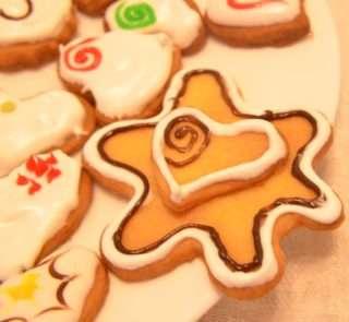 Рецепта за Коледни сладки стъпка 7