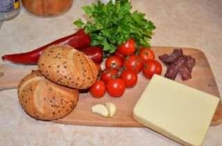 Рецепта за Пълнени хлебчета стъпка 1