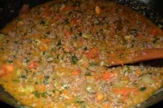 Рецепта за Долма – пълнени зеленчуци с месо стъпка 2