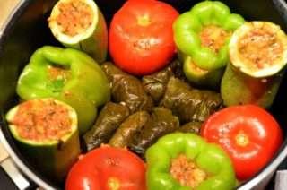 Рецепта за Долма – пълнени зеленчуци с месо стъпка 3