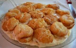 Рецепта за Еклерова торта стъпка 11