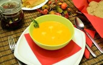 Есенна зеленчукова крем супа