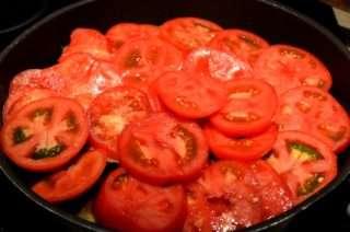 Рецепта за Патладжани с домати на фурна стъпка 2