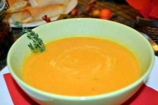 Рецепта за Есенна зеленчукова крем супа стъпка 3