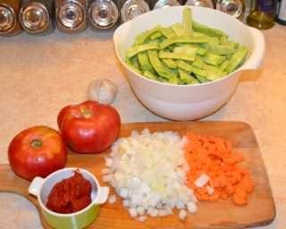 Рецепта за Зелен фасул стъпка 1