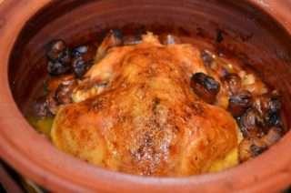 Рецепта за Печено пиле с кестени стъпка 3