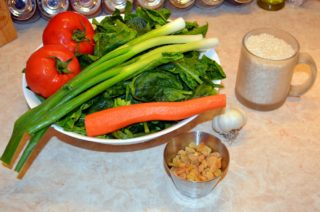 Рецепта за Спанак с ориз стъпка 1