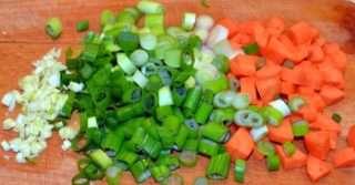 Рецепта за Спанак с ориз стъпка 2
