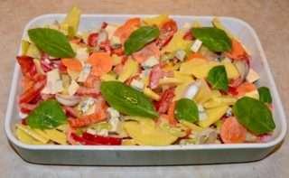 Рецепта за Зеленчуци на фурна стъпка 3