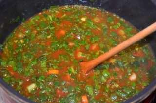 Рецепта за Спанак с ориз стъпка 4