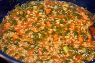 Рецепта за Спанак с ориз стъпка 5
