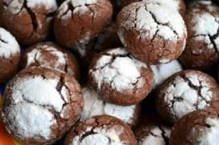 Рецепта за Шоколадови бисквити стъпка 10