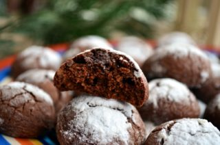 Рецепта за Шоколадови бисквити стъпка 11