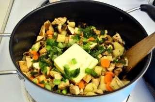 Рецепта за Крем супа от гъби стъпка 3