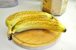 Рецепта за Бананов шейк стъпка 1