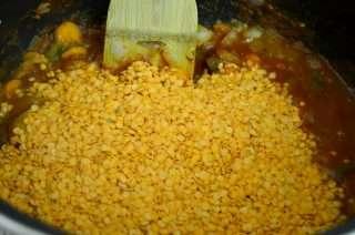 Рецепта за Крем супа от червена леща стъпка 6