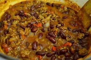 Рецепта за Чили кон карне стъпка 4