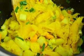 Рецепта за Тиквена крем супа стъпка 3