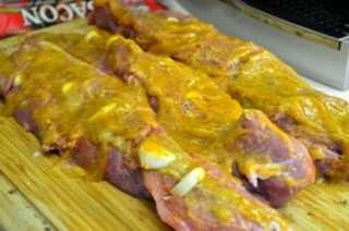 Рецепта за Свинско бон филе в бекон стъпка 1