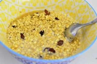Рецепта за Овесени ядки с плодове стъпка 2